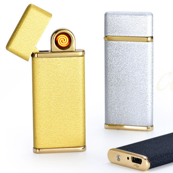 China Lighter USB 2018 Tiger 911-04-1 Windproof Rechargeable Electronic USB Lighter
