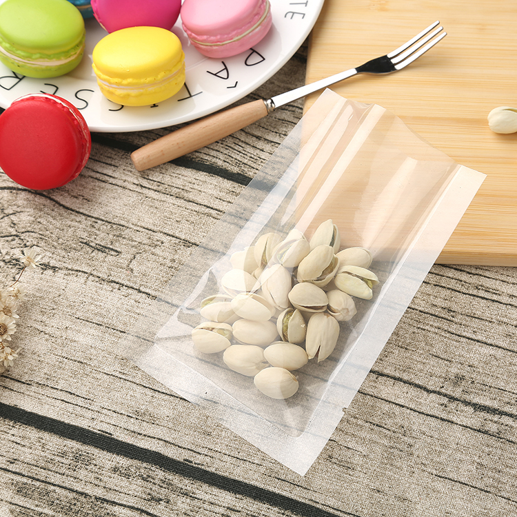 Small zip lock seed transparent nylon packing clear plastic bag