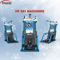 2017 Most popular virtual reality 9D vr ski vr skiing indoor game machine equipment
