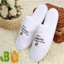 Wholesale White Terry Towelling Close Toe Guest Disposable Hotel ...