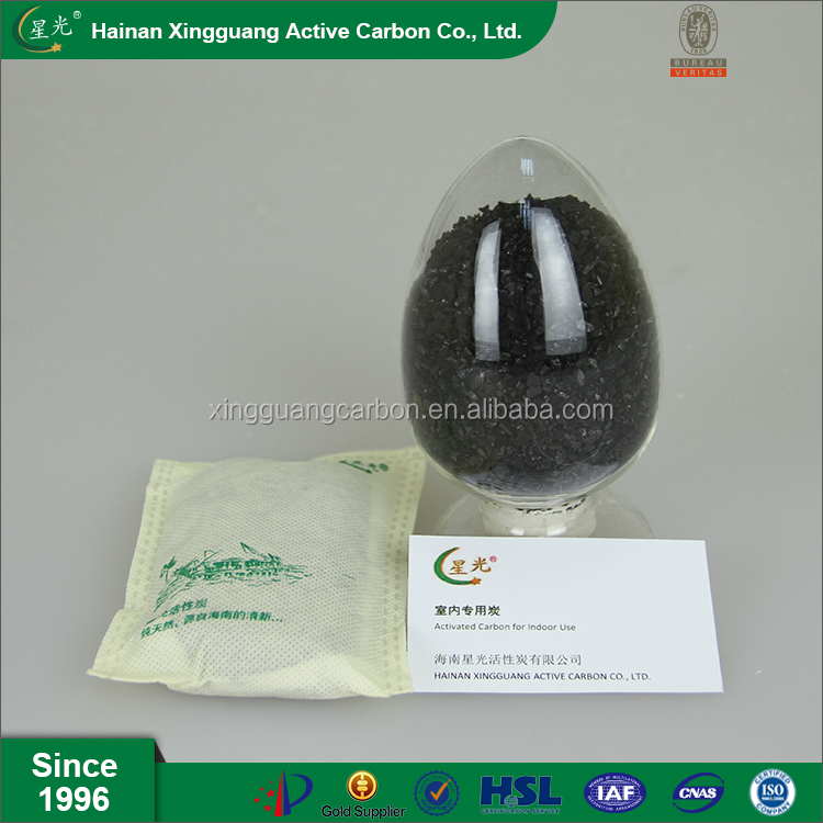 Coconut shell activated carbon bag Odor Absorbent Freshener for Home Office Hotel Kitchen Fridge