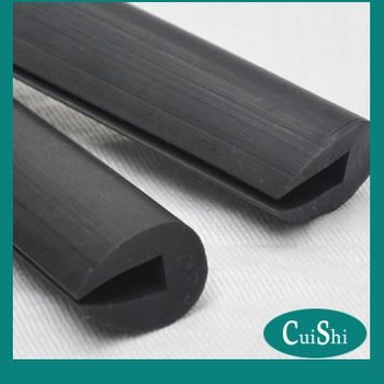 Black Epdm U Channel Rubber Edge Guard Buy Rubber Edge