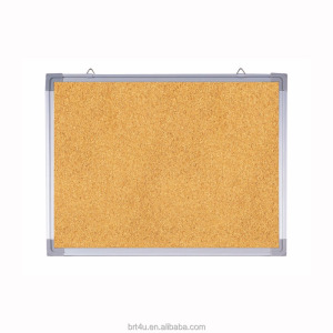 Bulletin Board Cork Board 10 Color Pins, Board for Home Office School - Presentation, Display and Planning