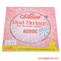 Alice Red String for Acoustic Guitar A206C 1-st Guitar Strings Wholesale
