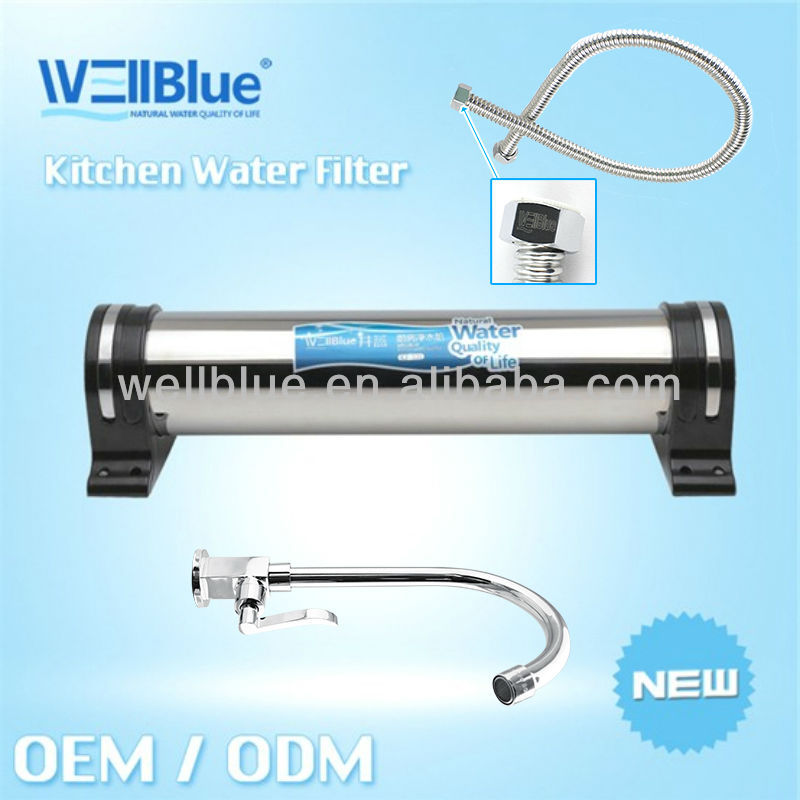Manufacture stainless steel Kitchen Water Filter L-KF101