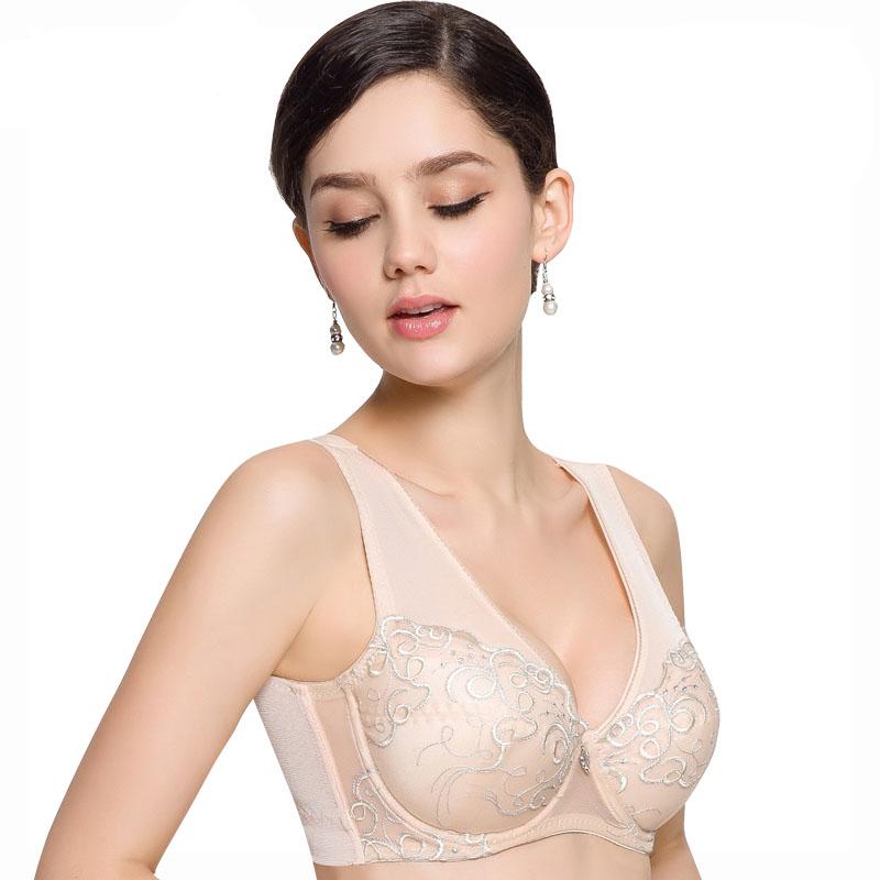 8466eeafb0 Get Quotations · 2015 sexy Women Pink black Plus size push up bra 80 85 90  95 100 C D