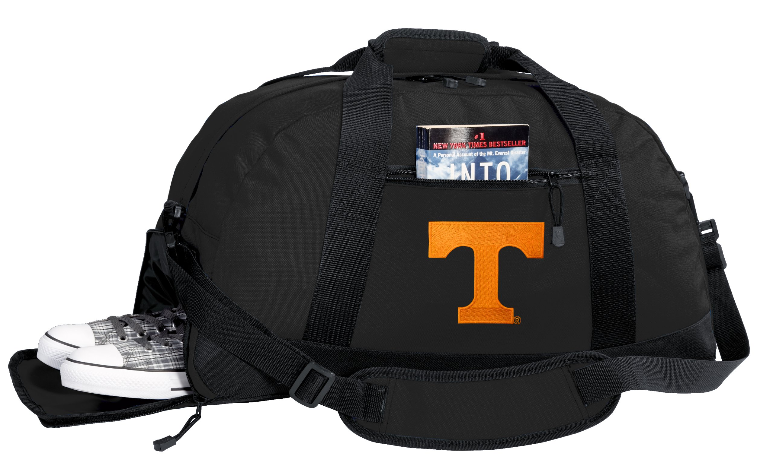 NCAA University of Tennessee Duffel Bag - Tennessee Vols Gym Bags w/ SHOE POCKET