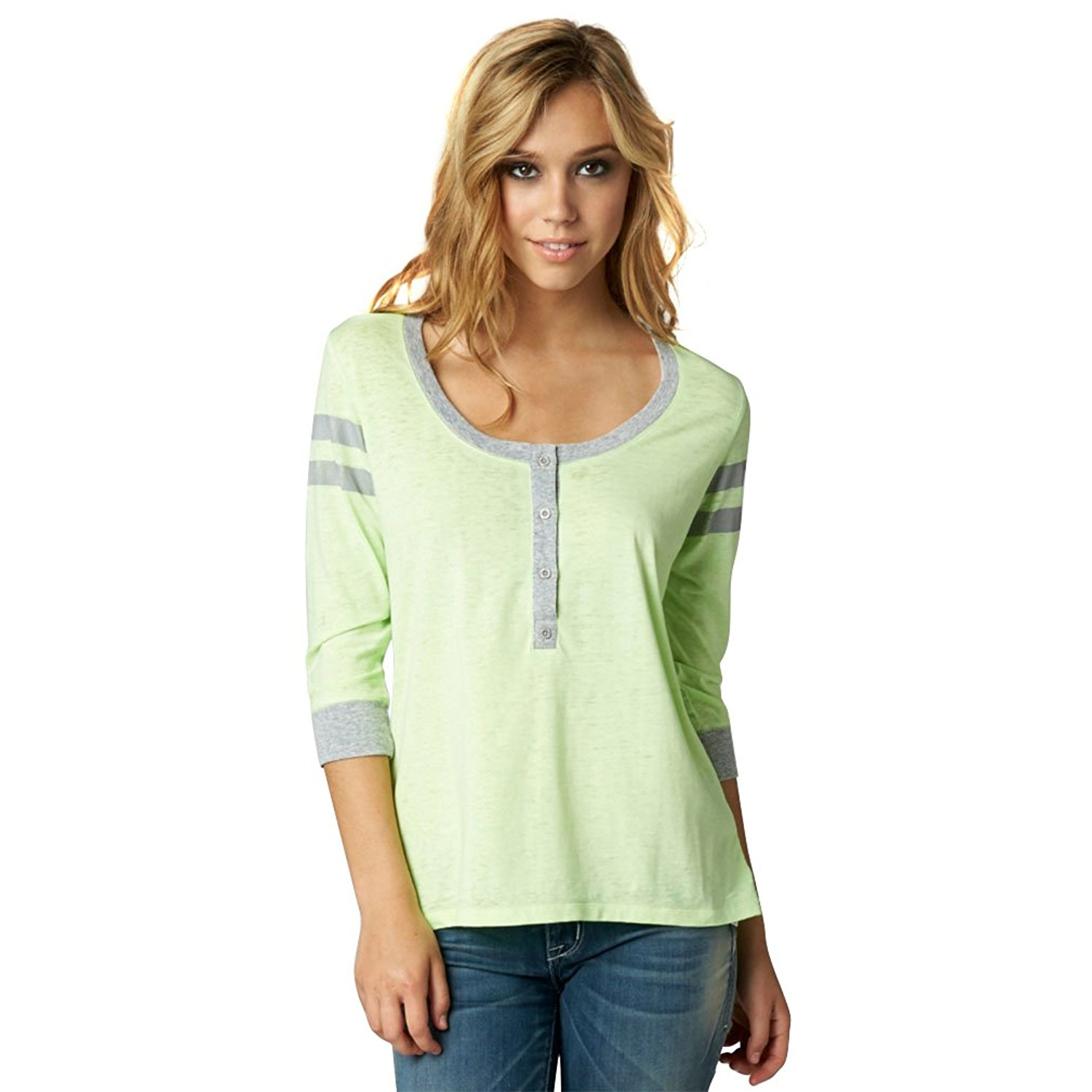 Fox Racing Girls Ammo Henley Top Shirt
