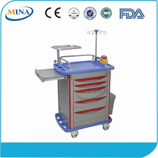 MINA-ET750 CE approved movable ABS portable dental cart