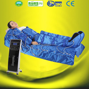 The most professional 3 in 1 infrared pressotherapy body massage suit lymph drainage equipment