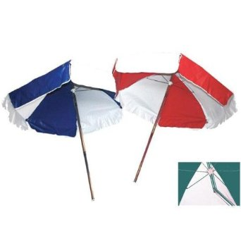 LIFEGUARD UMBRELLA - WEATHER DURABLE - RED AND WHITE