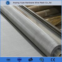 twill and plain weave stainless steel woven wire cloth for hog floor