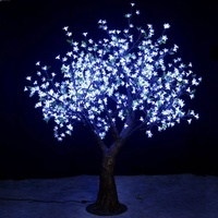 New party decorations outdoor landscape lamps artificial led crystal tree light