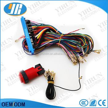 28 pin arcade jamma board machine wiring harness harness arcade rh alibaba com