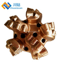 Steel Body PDC Bit 8 1/2inch 5 blades for oil well drilling hard rock tools equipment