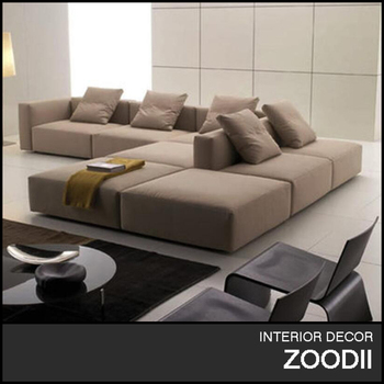 Comfortable Fabric Living Room Sofa Set Design Of Sectional Sofa ...