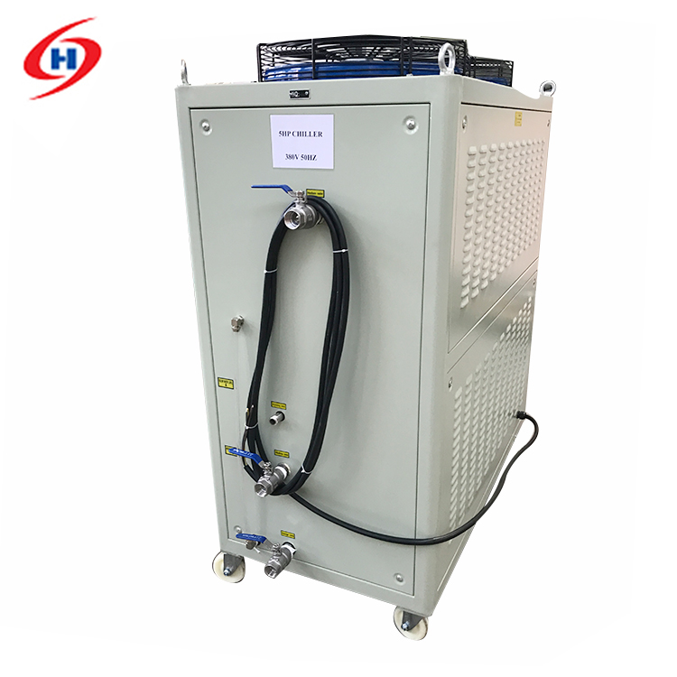 Hot Sale blast freezer water cooled cased industrial chiller with best price