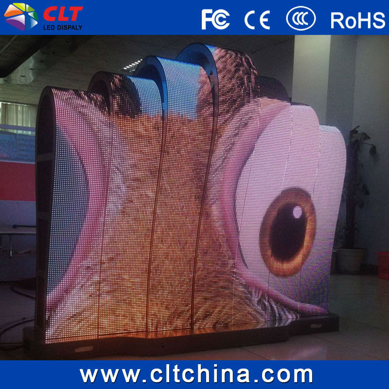 P6 Flexible Led Screen/full Color Soft Led Curtain Display/led ...