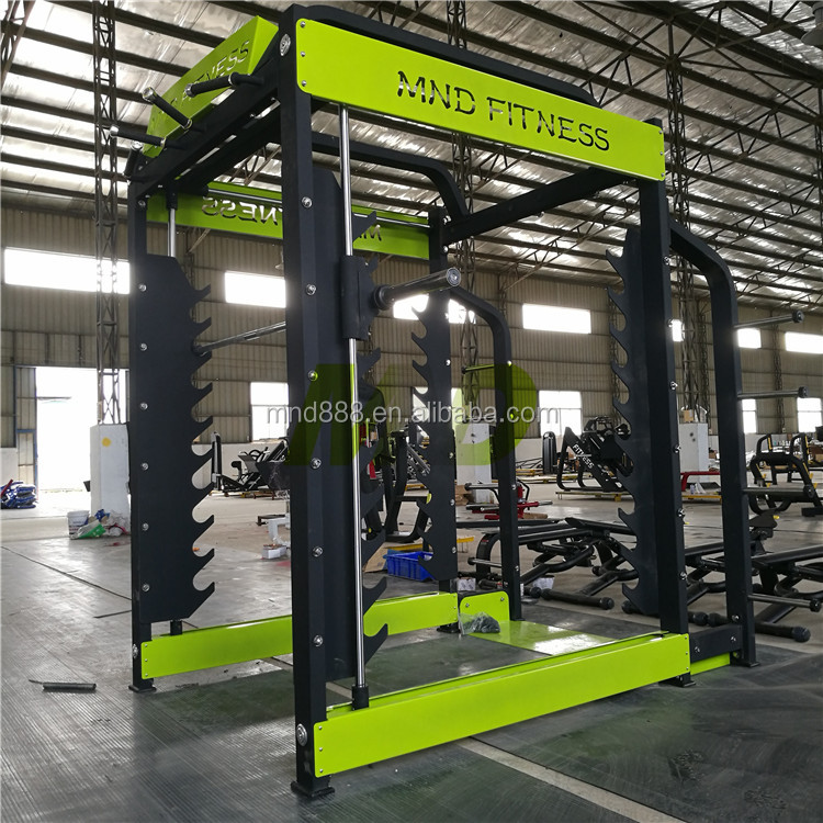 Professional Multifunction Gym Equipment 3D Smith Machine
