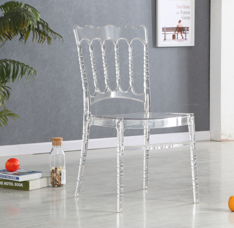 modern popular full PC clear plastic chair.png