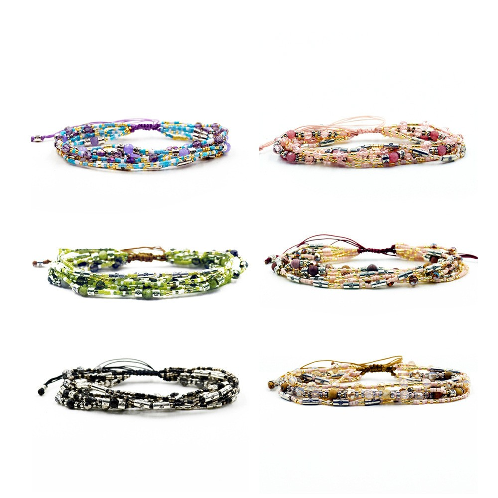 Excellent Quality Colorful Small Seed Beads Bracelet for Girl
