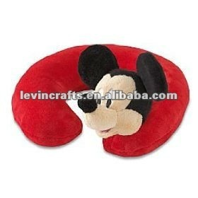 Mickey Mouse Plush Neck Pillow for children