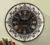 2015 China New Products Wholesale Cheap Round Shape Antique Wooden Clock Wall Clock