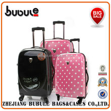 100% PC Trolley Luggage brand name suitcase
