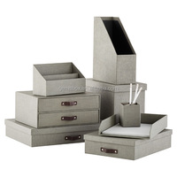 Kraft file boxes magazine file holder