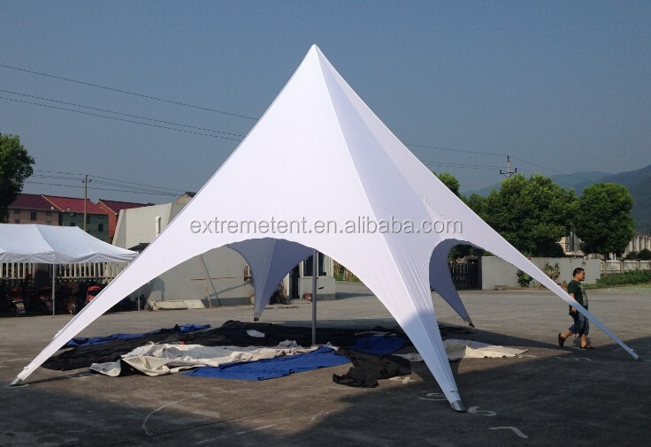 aluminum center pole tent poly top star tent/star shaped tent/star shade tent & Aluminum Center Pole Tent Poly Top Star Tent/star Shaped Tent/star ...