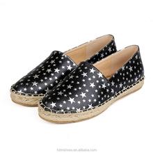 2015 diseñador de moda de corte bajo de zapatillas zapatos   imprenta de moda pu superior zapatos alpargatas mujeres TN,1292