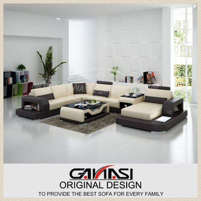 Design moderno divano in pelle, mobili bianchi moderni, stile ...