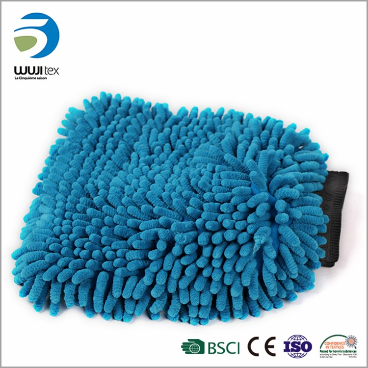 microfiber super car washing dust mitt