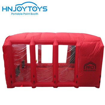 Hot sale 2019 hot sale portable excellent quality inflatable paint Booth cheaper