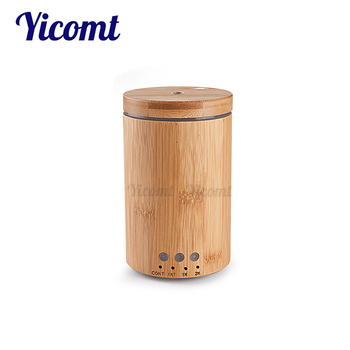 Best Led Timer Essential Oil Bamboo Aroma Diffuser