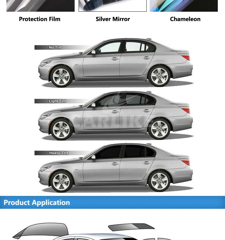 sino visible light transmission 4 70 smart film for car. Black Bedroom Furniture Sets. Home Design Ideas