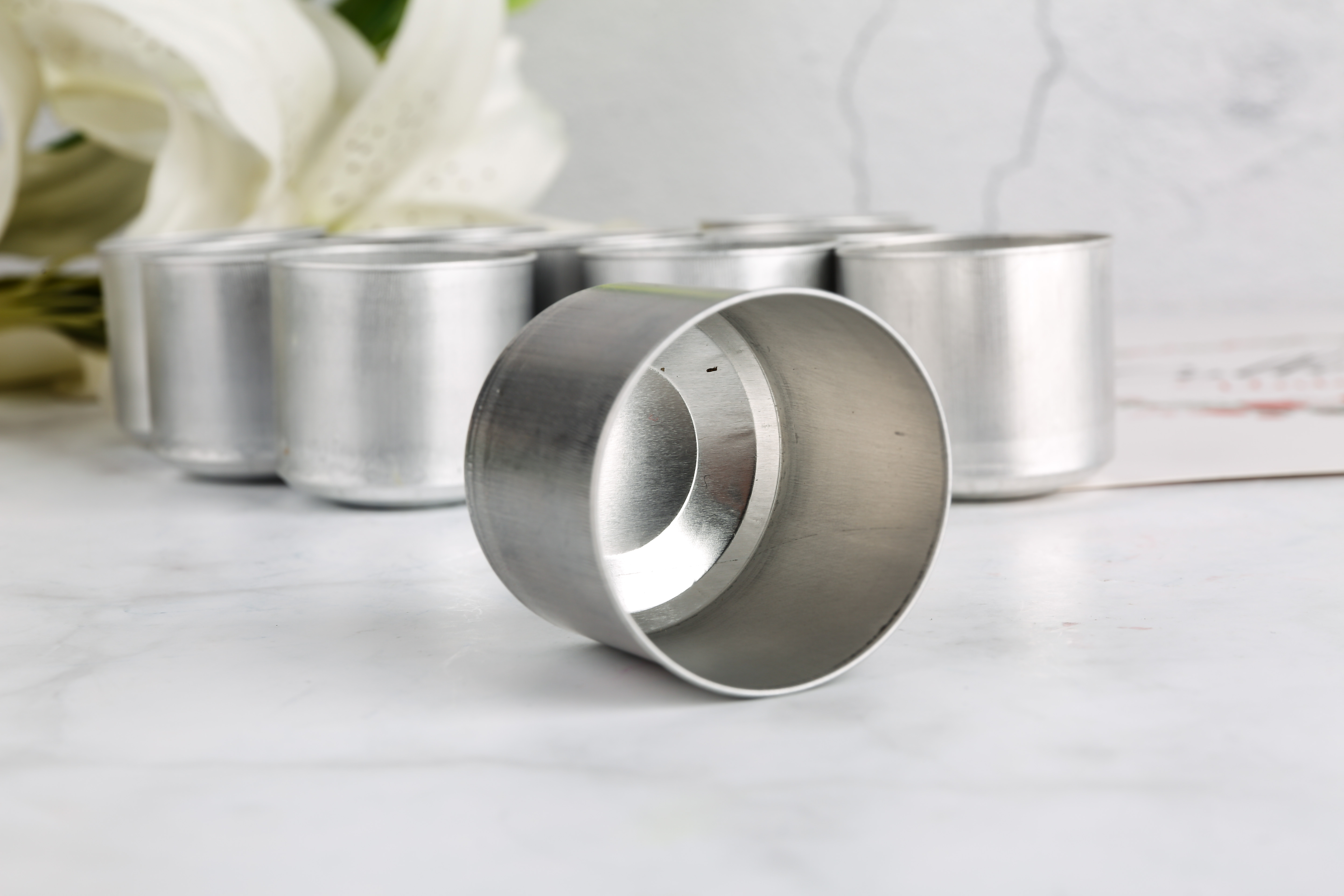 24g aluminum tealight cup for tea light candle