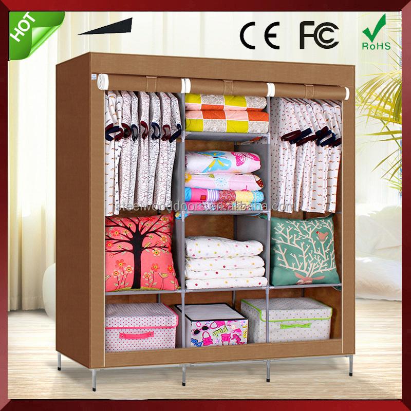 armario dormitorio armario estilos plegable diy no tejido armario de almacenamiento porttil