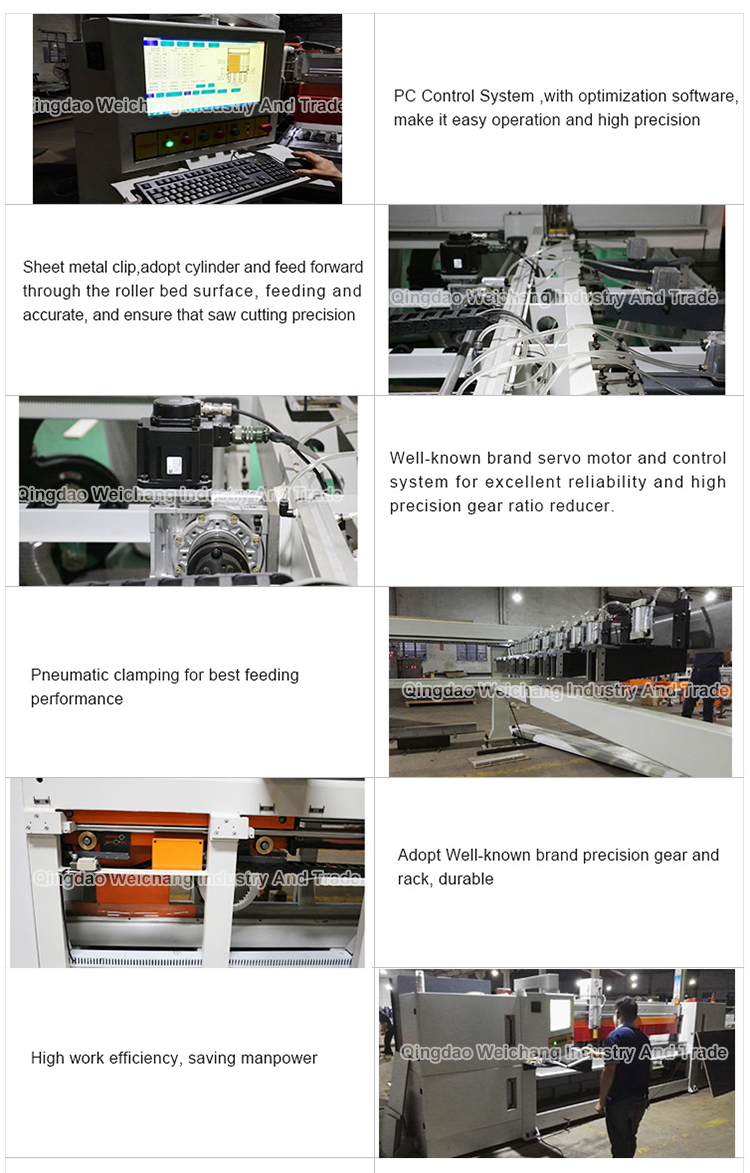 woodworking cnc panel saw beam saw automatic computer panel saw for mdf