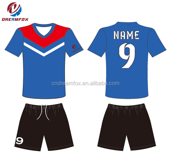 cc742885d Paypal service Cheap sample football jersey 100% polyester sublimation  printing machine custom Fashion France soccer