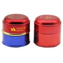 screw top aluminum jars cosmetics skin care containers suppliers