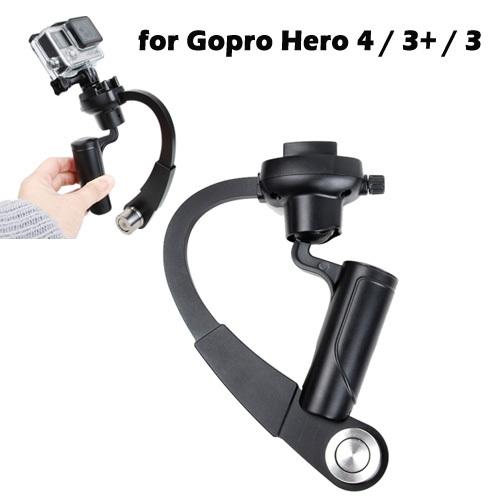 Newest Top Quality Black Special Stabilizer Bow Type Balancer Selfie Stick