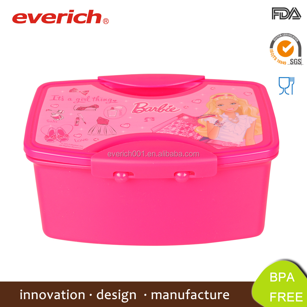 Everich 1000ml high security lunch box for kids plastic