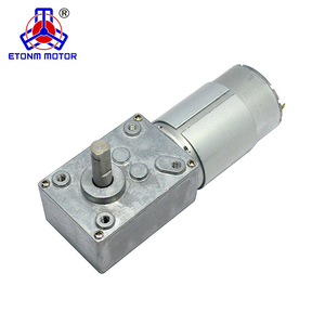 High Torque ET-WGM58-A Right Angle Gearbox 12V Small Worm Dc Gear Motor