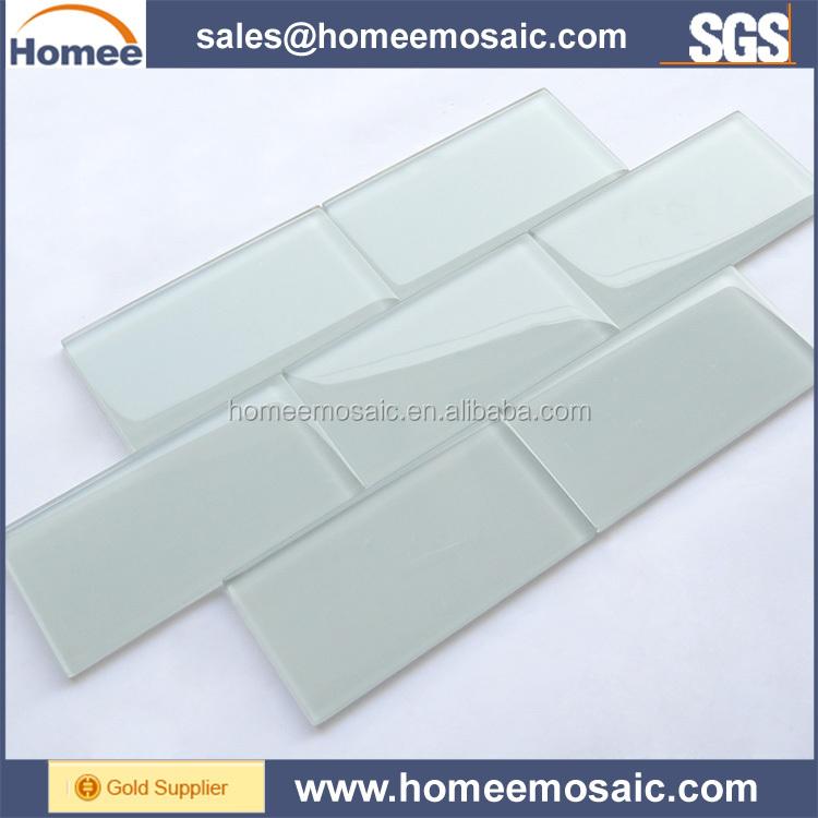 Cina fabbrica diretta bianco subway piastrelle di vetro - Fabbrica di piastrelle ...