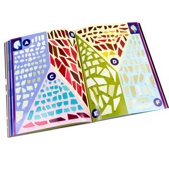 Sticker book printing custom sticker book design