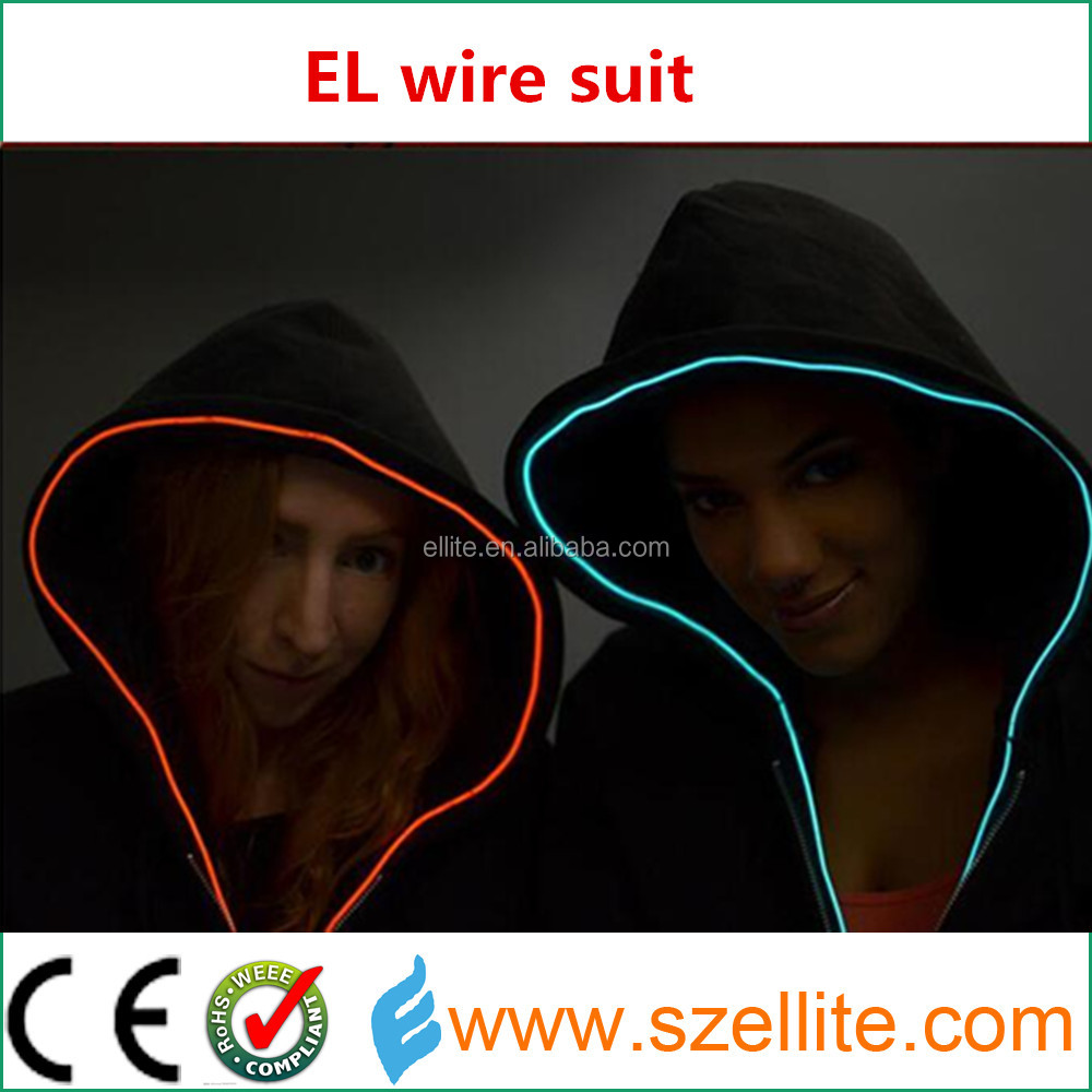 El Wire Suit, El Wire Suit Suppliers and Manufacturers at Alibaba.com