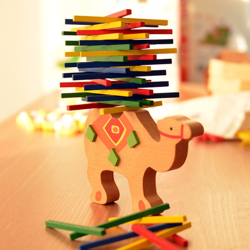 Educational bulding blocks wooden balance toy for <strong>kids</strong>