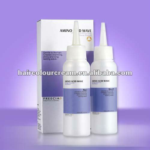 OEM Price name brands Acid organic liquid hair Perm professional for man hair