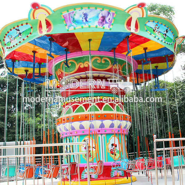 amusement parks carnival rides and games around the world flying chair